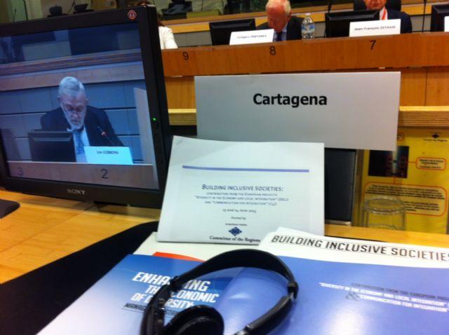 Cartagena comparte sus buenas prácticas multiculturales en Comité Europeo de las Regiones - 2, Foto 2