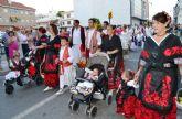 Cientos de huertanos honran a San Pedro en la tradicional ofrenda de frutos al Patrón