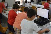 Hijos del personal de la UPCT se inician en la ingeniería con una taller de robótica de Lego