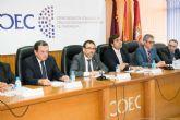El alcalde enuncia ante los empresarios las infraestructuras irrenunciables para Cartagena