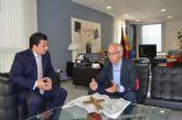 El Alcalde se reunió con el presidente de comerciantes y empresarios de La Manga Cabo de Palos