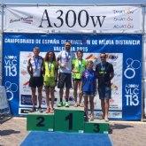 El murciano Jorge Tomás se proclama campeón de España de Triatlón en Valencia