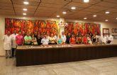 Un grupo de restauradores de la Regi�n visita ElPozo