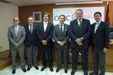El consejero de Fomento respalda las reivindicaciones de COEC en infraestructuras para la comarca de Cartagena