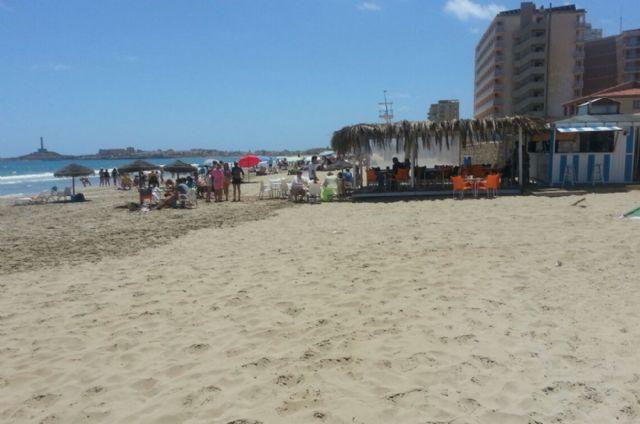 La Policía Local comprueba que los chiringuitos de playa cumplen la ordenanza - 1, Foto 1