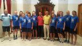 12 jugadoras del equipo junior de la Selección Escocesa de Baloncesto Femenino visitan Lorca por quinto año consecutivo
