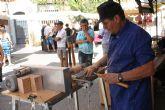 El Zacatín dedica su actividad a los trabajos en madera