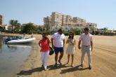 Castejón supervisa el estado de las playas de cara al inicio de la temporada de vacaciones