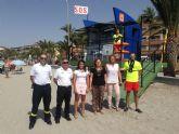 Un total de 37 socorristas vigilan las playas de San Pedro del Pinatar este verano