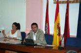La unanimidad y el dialogo anterior estuvo presente en la primera de las sesiones plenarias de la nueva Corporación Municipal en Alcantarilla