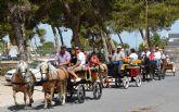 Los aficionados al enganche se dan cita en el XII Encuentro de Carruajes de San Pedro del Pinatar
