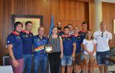 La alcaldesa felicita a los Campeones de Europa de Dragon Boat