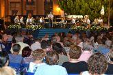 La unidad de Música de la Academia General del Aire honra a la Virgen del Carmen