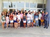 Clausura del curso de UNIMAR en San Javier 'Intervención Psicológica en Rehabilitación funcional de lesiones deportivas'