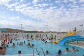 Las piscinas municipales ofrecen una nueva programación de cursos y han registrado 4.631 bañistas desde su apertura