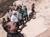 20 jóvenes colaboran en la excavación del yacimiento de Siyâsa en un Campo de Trabajo organizado por Cultura y el Ayuntamiento de Cieza