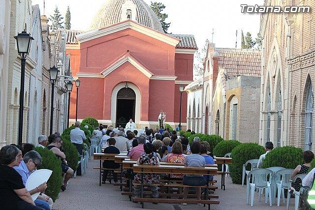 """La tradicional Misa en honor a la Patrona del Cementerio Municipal """"Nuestra Señora del Carmen"""" tendrá lugar mañana jueves 16 de julio, Foto 1"""