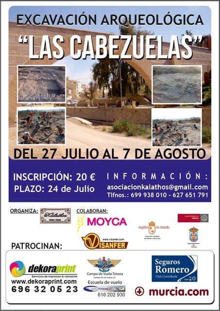 """II Archaeological Fieldwork in """"The Cabezuelas"""", Foto 1"""