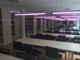 Las bibliotecas de Mazarr�n y Puerto ampl�an su horario de verano