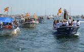 Miles de fieles y pescadores honran a la 'Estrella de los mares'