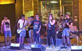 El grupo local Kilómetro Quince ofreció un concierto enmarcado en los Jueves Jóvenes del Nogalte Cultural 2015