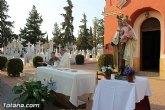 Ayer tuvo lugar la tradicional misa en honor a la Patrona del Cementerio Municipal 'Nuestra Señora del Carmen'