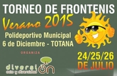 El Polideportivo Municipal '6 de diciembre' acogerá los próximos días 24, 25 y 26 de julio el Torneo de Frontenis 'Verano´2015'