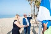 Las playas de Mazarr�n cuentan este verano con 15 distintivos en reconocimiento a su calidad y servicios
