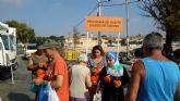 San Javier fomenta el reciclaje de aceite doméstico