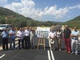La Consejería de Fomento mejora la seguridad vial de la carretera de Benizar con la ampliación de la plataforma y reposición del firme