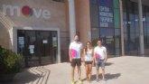 La concejal de deportes Isabel María Molino visita Move