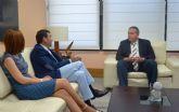 El consejero de Fomento e Infraestructuras se reúne con el alcalde de Cartagena
