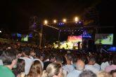 Tony Aguilar reúne a miles de jóvenes en Lo Pagán en una nueva edición del Playa 40 Pop