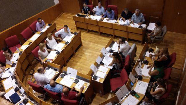 Balance del debate y votación de las mociones incluidas en el orden del día del pleno ordinario del Ayuntamiento de Lorca correspondiente a julio - 1, Foto 1