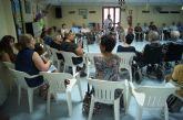 Autoridades municipales asisten a la jornada de convivencia organizada con motivo del Día del Abuelo en el Centro de Día de Personas Mayores