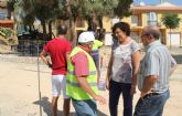 En marcha las obras de mejora del parque  La Cañada de Puerto Lumbreras con nuevas zonas de ocio y juegos infantiles