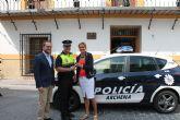 La Alcaldesa ha entregado un nuevo coche de seguridad ciudadana a la Policía Local