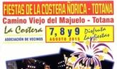 Las fiestas de La Costera-Ñorica se celebrarán en el Camino Viejo del Majuelo del 7 al 9 de agosto