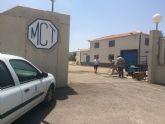 Comienzan las obras para ejecutar una nueva toma en la red que alimenta la impulsión de Aledo, en la carretera de La Huerta