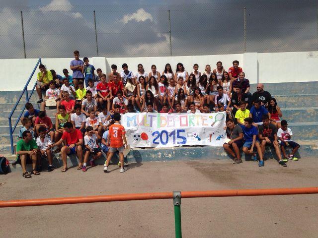 La Escuela Multideporte de Alguazas se despide hasta el año que viene - 1, Foto 1