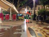 El Ayuntamiento pone en marcha un dispositivo nocturno especial de limpieza los fines de semana