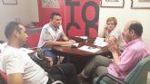 El PSOE se reúne con los comerciantes de El Malecón y pide a la concejalía de comercio soluciones para el colectivo