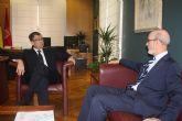 El Rector ofrece al Ayuntamiento de Murcia la colaboración total de la UPCT
