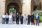 Mons. Lorca presenta la Fundación Cristo Amarrado a la Columna