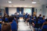 """Autoridades municipales asisten al acto de clausura de las XXVI Jornadas de Formación en Hemofilia que se celebran en """"La Charca"""""""