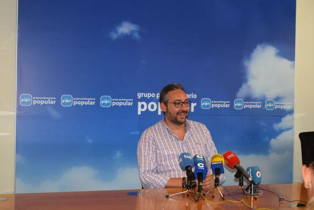 Víctor Martínez: Pedro Antonio Sánchez está solucionando los problemas que dejó Tovar como delegado del Gobierno - 1, Foto 1