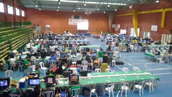 La xiii edición de  la begastri  lan party bate su record con 250 participantes - 1, Foto 1