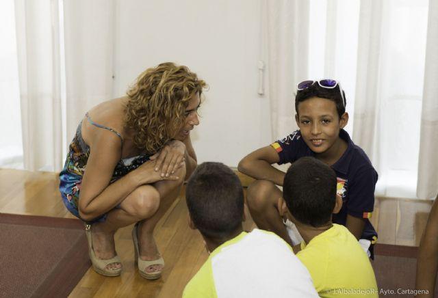 Una quincena de niños saharauis disfrutarán de un verano en Cartagena - 1, Foto 1