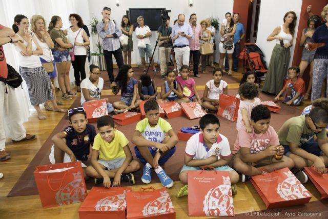 Una quincena de niños saharauis disfrutarán de un verano en Cartagena - 4, Foto 4