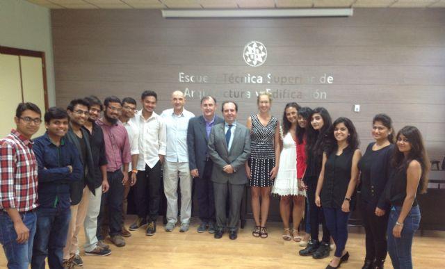 UPCT despide a alumnos indios - 1, Foto 1